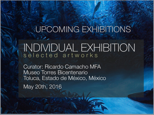 UPCOMING EXHIBITION MEXICO MAY 2016